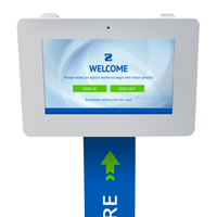 Outdoor Visitor Management Kiosk