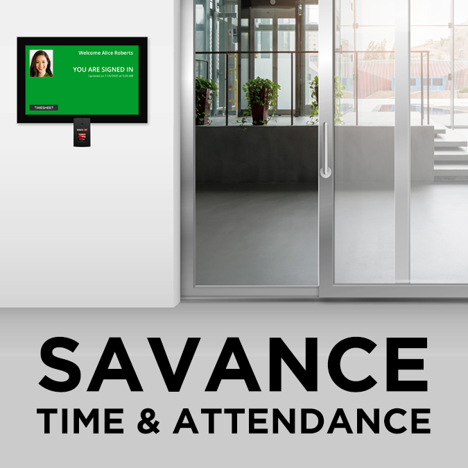 New Savance Video Illustration: Savance Time & Attendance Solution Overview