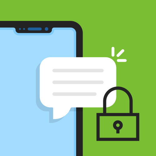 Feature Spotlight Illustration: Private Instant Messaging